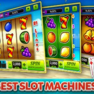 Slot Machines – Some Gaming Secrets And Payouts For The Great Achievements